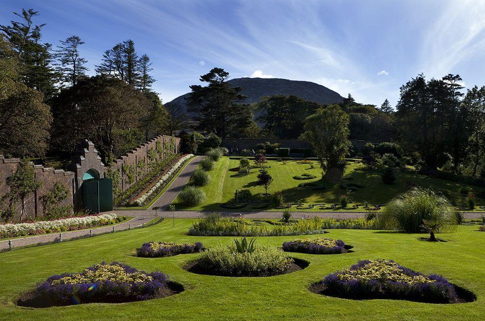 1. Kylemore Abbey garden