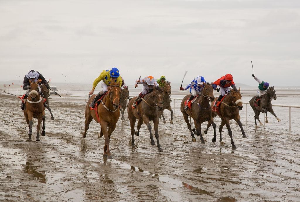 Laytown beach race