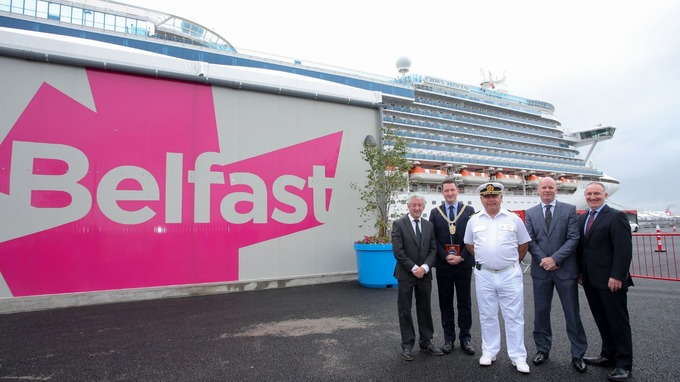 Belfast cruise terminal opens