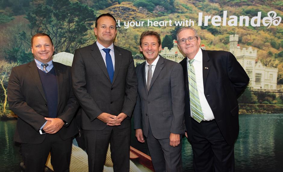 Taoiseach promotes Ireland in Los Angeles
