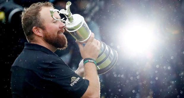 Shane Lowry winning 148th Open Championship